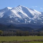 Mount Sopris close-up