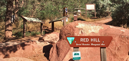 Red Hill sign