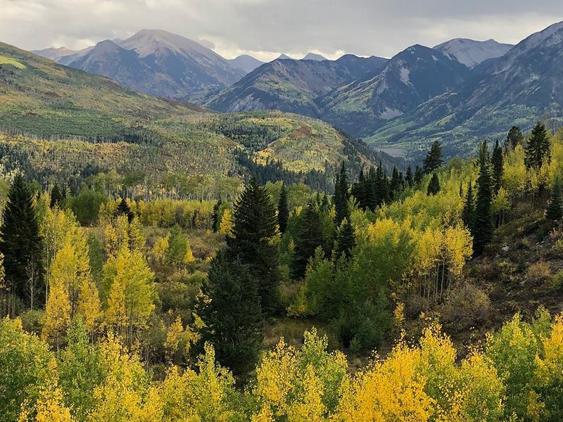 Rocky Mountains, Colorado, West Elk Loop