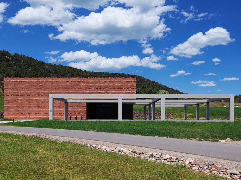 Powers art center exterior